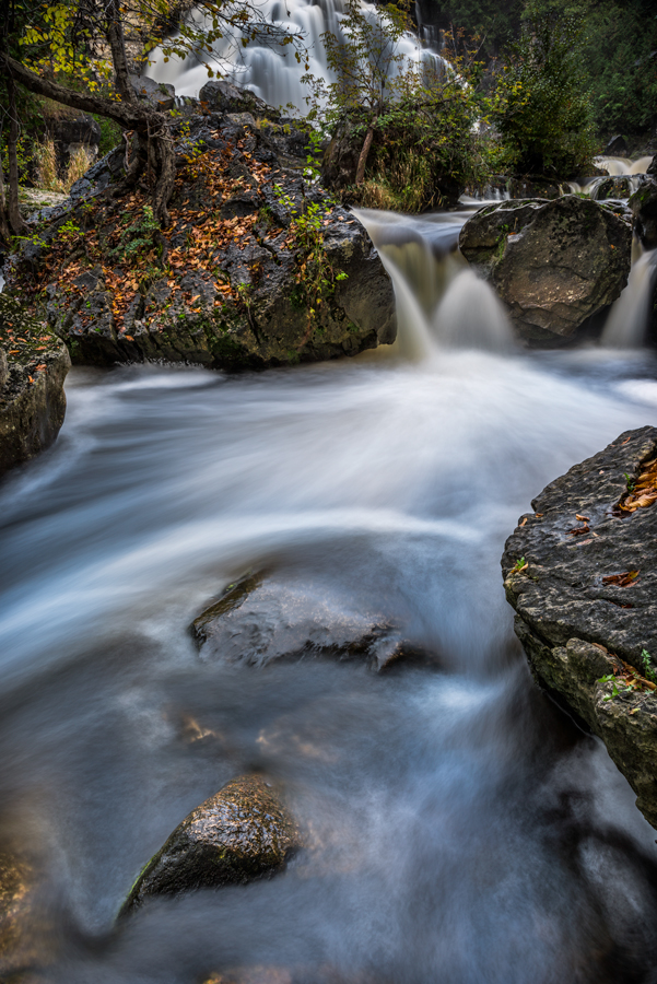 Long exposure waterfall by Daniel Bellyk - Landscapes Waterscapes ( waterscape, waterfall, fine art, long exposure, landscape )