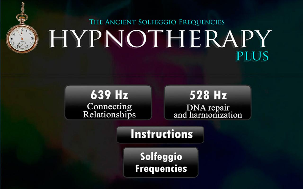 Hypnotherapy- screenshot