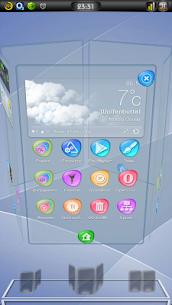 Next Launcher 3D Theme Concord v1.00 APK 7