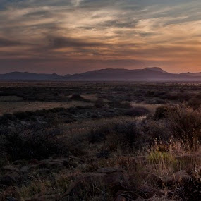 The Great Karoo by Nathan Robertson - Landscapes Sunsets & Sunrises ( raw, sunset, africa, landscape, panorama )