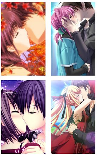 Anime Kiss Wallpaper