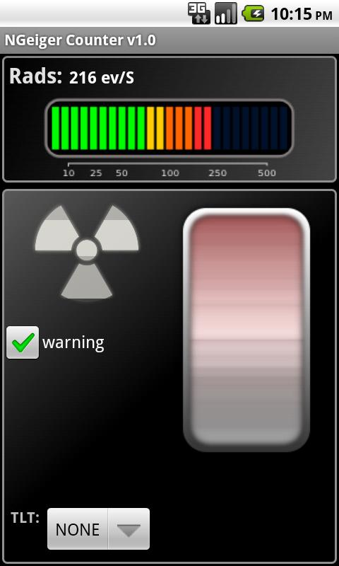 Novelty Geiger Counter - screenshot