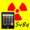 Radioactive EZCalc logo