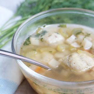 Vegetarian Matzoh Ball Soup
