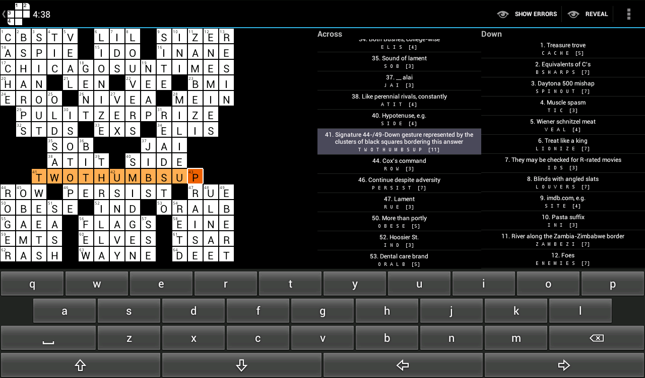 Words With Crosses - screenshot