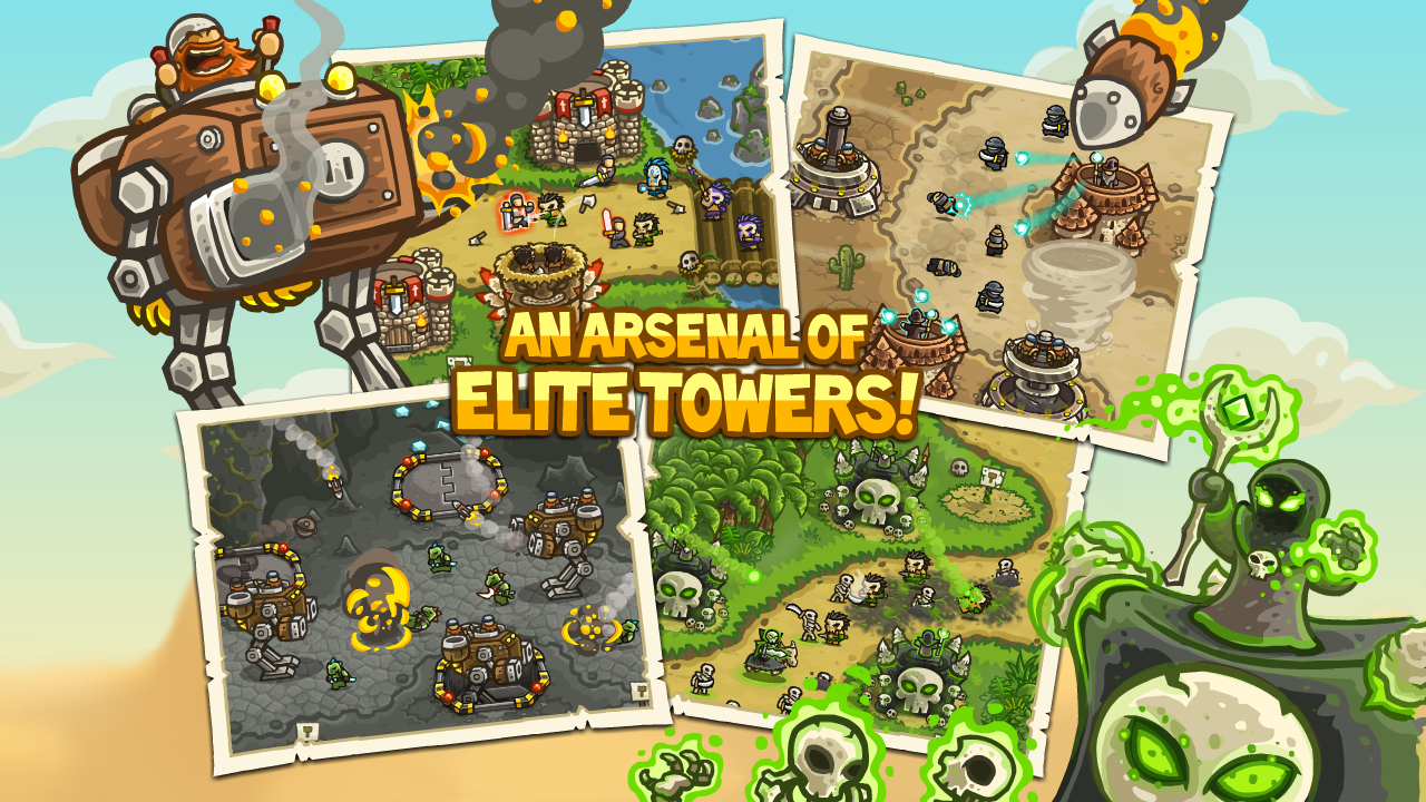 Kingdom Rush Frontiers screenshot #8