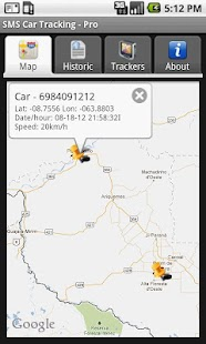 SMS Car Tracking Free- screenshot thumbnail