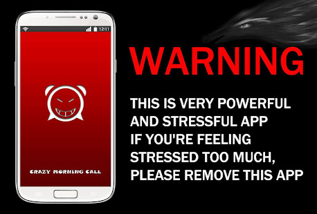 App Crazy Morning Call(Warning) APK for Windows Phone