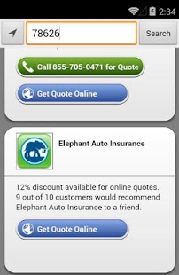 Elephant Auto Insurance Quote Classy Cheap Car Insurance  Android Apps On Google Play