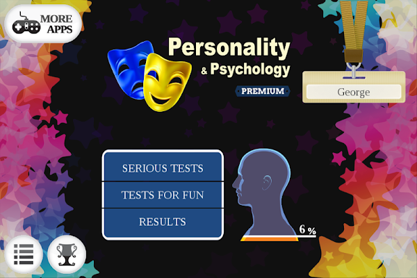 Personality Psychology Brain L - screenshot