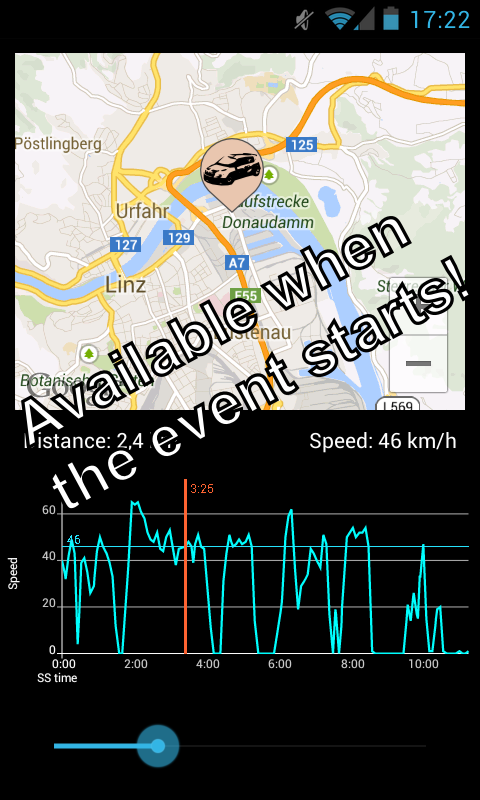 Rallye Weiz App- screenshot