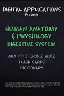 ANATOMY/PHYSIOLOGY DIGESTIVE - screenshot thumbnail