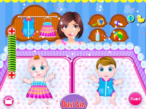 Newborn twins girls games 8.0.2 screenshots 17