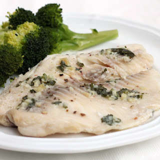 Slow Cooker Garlic Butter Tilapia.