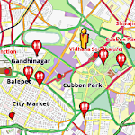 Bangalore Amenities Map (free)