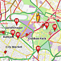 Bangalore Amenities Map (free) icon