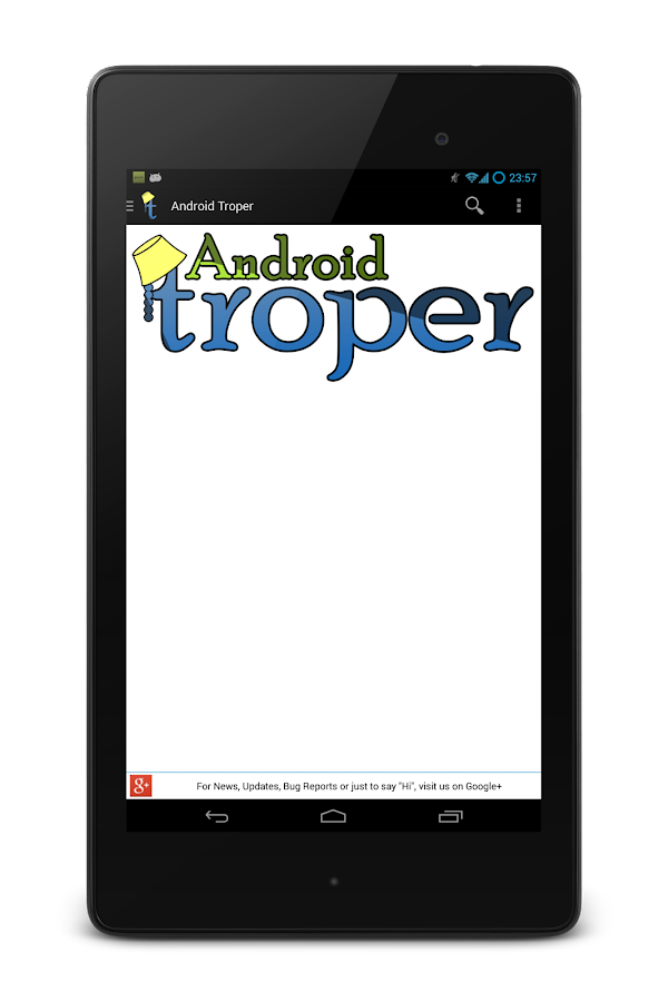 Android Troper - screenshot