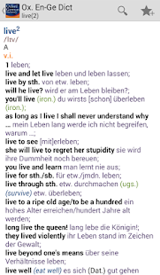 Oxford German Dictionary- screenshot thumbnail
