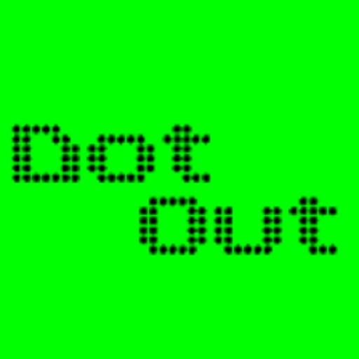 Dot Out LOGO-APP點子