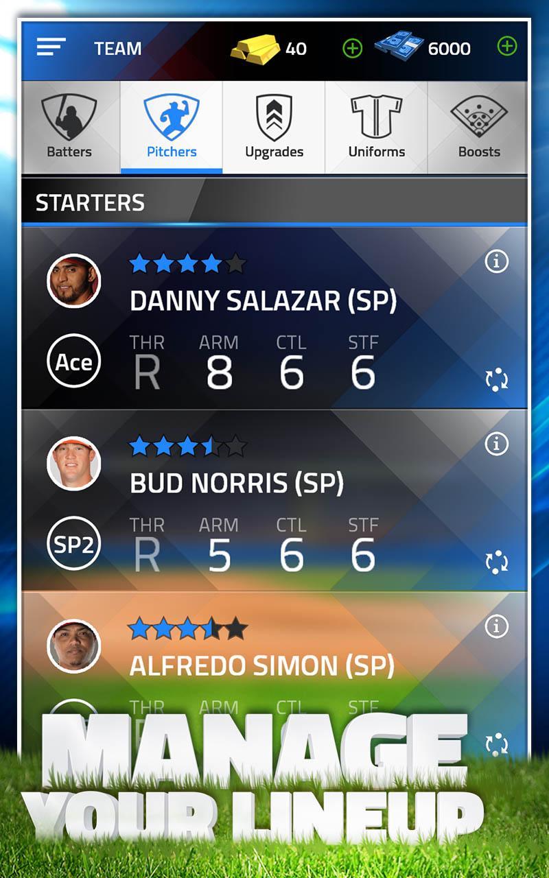 TAP SPORTS BASEBALL 2015 screenshot #11