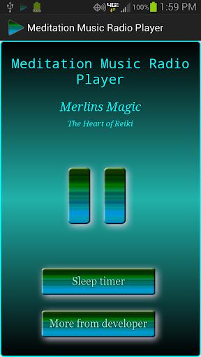 Meditation Music Radio Player