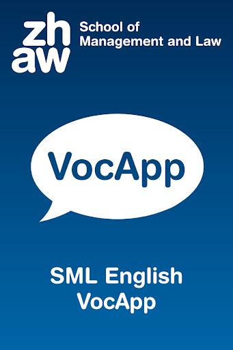 SML VocApp English
