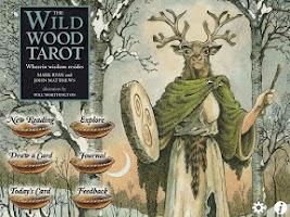 Screenshot of Wildwood Tarot