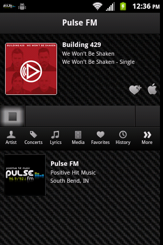 PULSE FM - screenshot