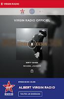Screenshot of Virgin Radio Officiel