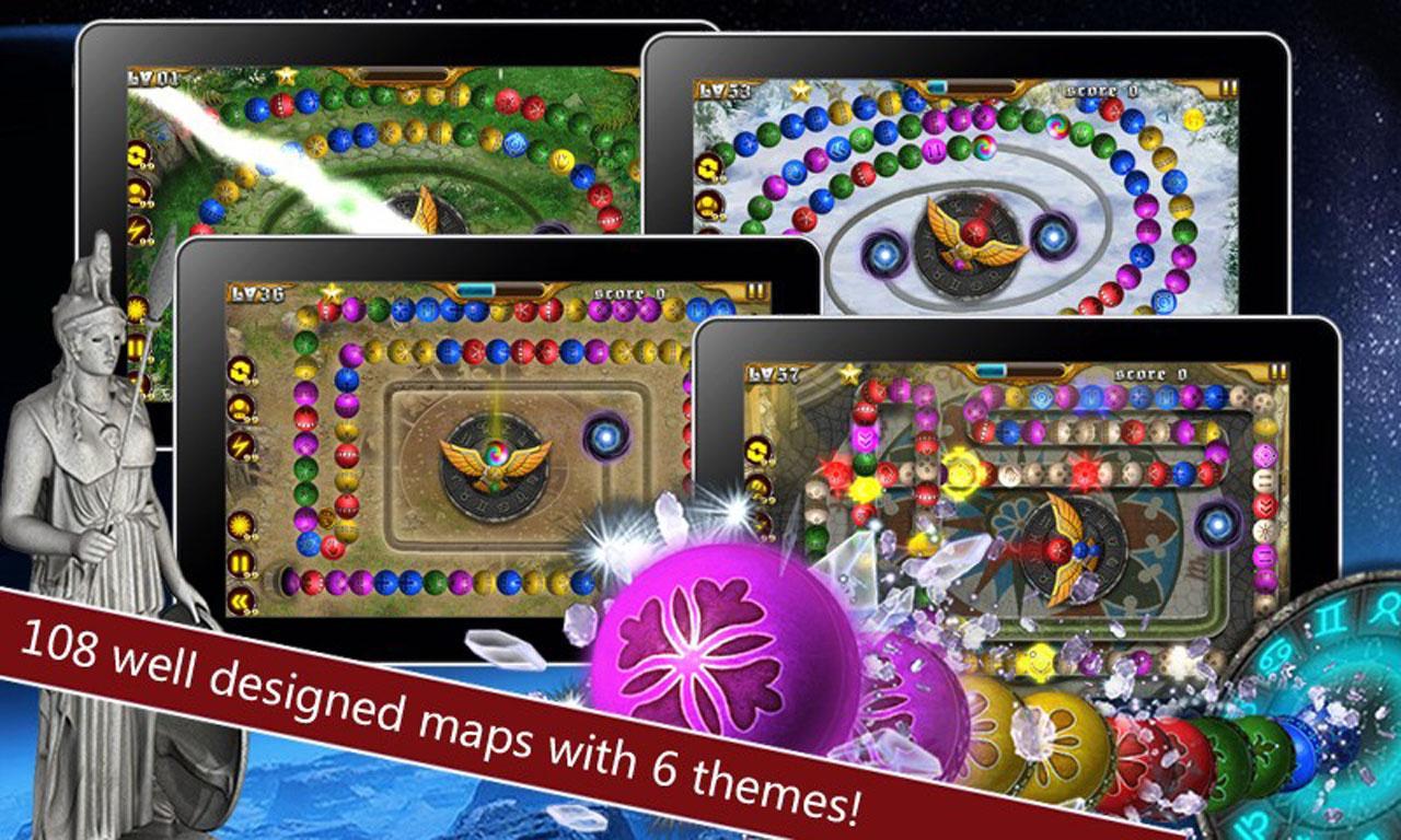 Google themes marble - Marble Blast Zodiac Online Screenshot