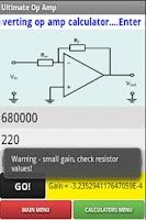 Screenshot of Ultimate Op Amp