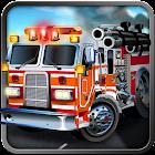 3D Fire Truck Simulator HD icon