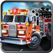 3D Fire Truck Simulator HD