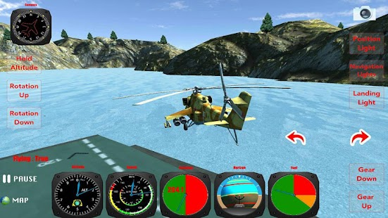 X Helicopter Flight 3D - screenshot thumbnail