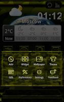 Screenshot of Next Launcher MilitaryB Theme