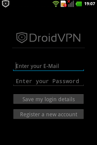 DroidVPN - Android VPN - screenshot