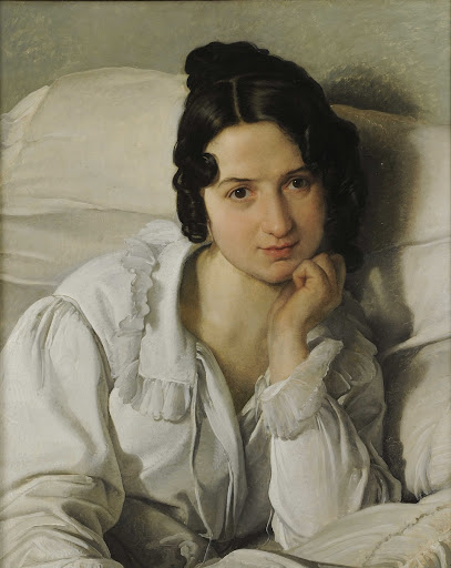 Portrait of Carolina Zucchi (The Sick Woman) (Carolina in Bed)