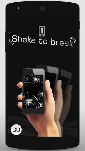 Break screen