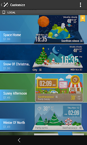 Weather Clock Cool Widget screenshot 4