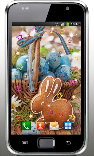 Chocolate Bunny live wallpaper