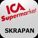 ICA Supermarket Skrapan logo