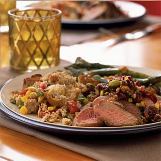 Sautéed Duck Breast with Cherry-Pistachio Salsa