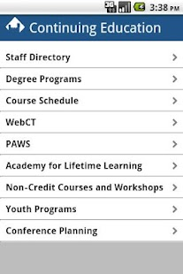 EIU Continuing Ed- screenshot thumbnail