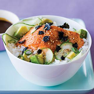Simple Salmon Chirashi