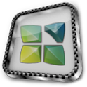 Next Launcher Theme Glass 3D APK