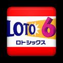 ロト6当選番号速報 icon