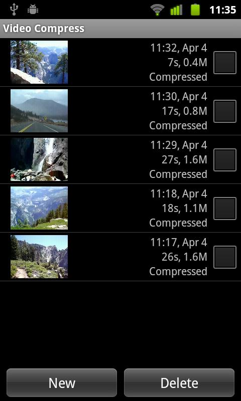 Video Compressor - screenshot