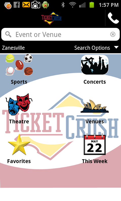 TicketCrush - screenshot