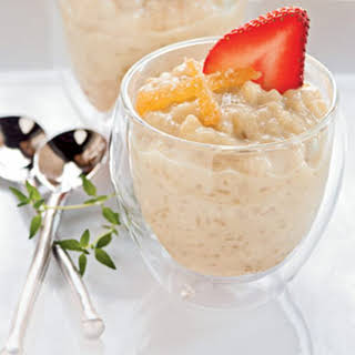 Ginger-Infused Japanese Rice Pudding.