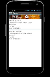 PNR and Indian Rail Enquiry - screenshot thumbnail